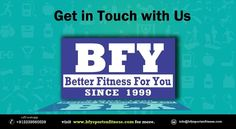 Bfyfitness is one of the leading Fitness Institute in India. We are one of the premier health Institute that provides Fitness Tips, fitness courses & other related things to your health.