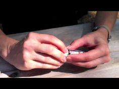 Beaded toe ring tutorial - how to make a wire ring! - YouTube