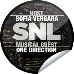 Saturday Night Live: Sofia Vergara and One Direction...It's sure to be a very attractive episode! Check-in to SNL with GetGlue.com for exclusive stickers!