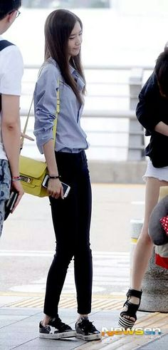 Yoona's fashion airport