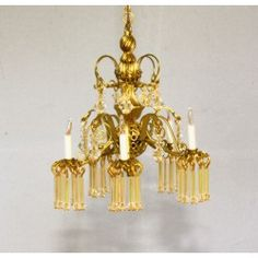 From furniture to glassware, from brass to glass, we are your on-line source for Artisan made dollhouse miniatures. Dollhouse Miniatures, Artisan, Chandelier, Ceiling Lights, Lighting, Glass, Handmade, Beautiful, Scale