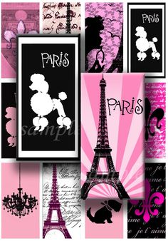 Poodle Parisian them for girls nursery... If I ever have a baby girl :)