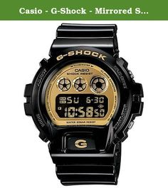 Casio - G-Shock - Mirrored Style - DW6900-CB Series - Black w/ Gold Face , One Size. Life is full of unexpected dousings and shocksa sideline shower of sports drink, a spill off a mountain bike into a mud puddle, or a direct hit on the paintball course; the last thing you're thinking about is whether your watch will survive the experience. If you're wearing the G-Shock DW6900CS Classic Watch, it's not even an issue; G-Shocks are designed to take whatever comes at you or you get into…