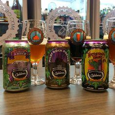 3 cervejas em lata da Caldera #cerveja #degustacao #beer #tasting