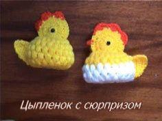 Пасхальные поделки.  Цыпленок с сюрпризом.