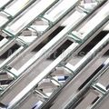 Tira al azar espejo azulejos de mosaico backsplash de la cocina azulejos A47074