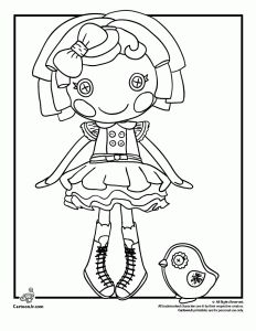 Dot Starlight Lalaloopsy Coloring Page