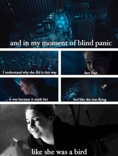 ~Divergent~ ~Insurgent~ ~Allegiant~ I cried when this happened in the book. Like historically cried.