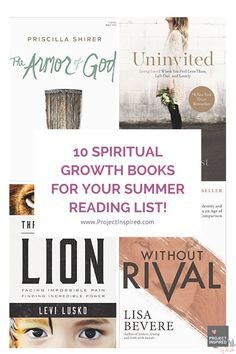 If you're looking for a great quality Christian book to settle down with, these 10 come highly recommended by a few of our PI Girls! We've included the descriptions from Amazon here so you'll know what each book is about.
