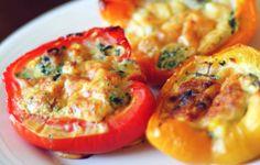Crostoni con uova nei peperoni - Microonde - La ricetta di Buonissimo