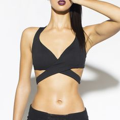 Yes hunty! Sexy Workout Clothes: Image of Siren Bra (Black) - NEW Fall 2013