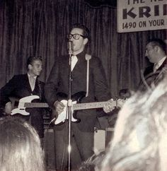Last photo of Buddy Holly Feb. 2nd, 1959. That makes me want to cry