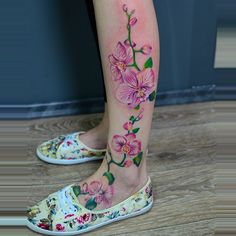 Something like this on my foot/ ankle. I don't want it to go up my calf though.