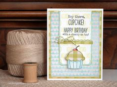 Audrey Pettit | MCT Light The Candles Cupcake Card