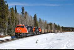 RailPictures.Net Photo: CN 2876 Canadian National Railway GE ES44AC at Lynch, Alberta, Canada by Tim Stevens