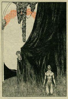 illustration for willy pogany for tannhauser