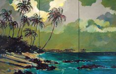 Hawaiian land/seascape