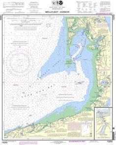 NOAA Nautical Chart 13250: Wellfleet Harbor; Sesuit Harbor