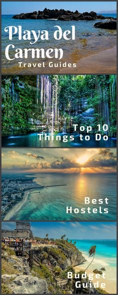 Playa del Carmen Mexico Travel Guides: Four travel guides to Playa del Carmen, including things to do, best hostels, and a budget guide! Click here to read more.