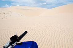 White dunes of Mui Ne - VietNam