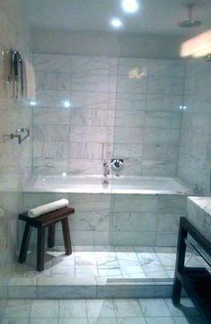 Master Bathroom Tub Shower Combo - Master Bathroom Tub Shower Combo, soak Tub Shower Bo for Master Bath Long soak Tub Bathtub Shower Combo, Bathroom Tub Shower, Shower Doors, Bathtub Tile, Tub And Shower, Bathtub Decor, Dream Shower, Tub Shower Combination, Walk In Tubs Bathtub