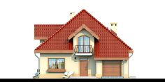 DN Karen is a house with an attic, basement with garage single user in a block b. DN Karen is a ho Block B, Attic, Basement, House Plans, Garage, Villa, Cottage, House Design, How To Plan