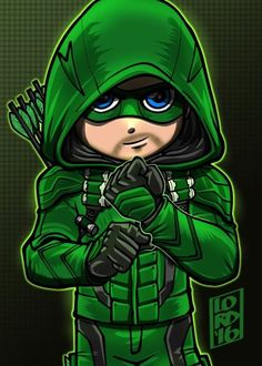 """New Suit"" art by Lord mesa-art Lego Dc Comics, Arte Dc Comics, Chibi Characters, Marvel Characters, Green Arrow, Logo Super Heros, Cãezinhos Bulldog, Lord Mesa Art, Chibi Marvel"