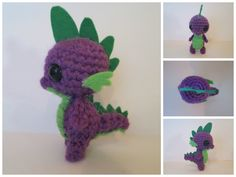 Spike's size is accurate in comparison to my ponies. This meant I had to work at a very small scale which was quite challenging. The key to making him look like Spike was adding the felt details. I...