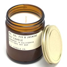 The Fig & Jasmine candle is perfect for a kitchen or bathroom, pretty much anywhere with tiles. The throw on this baby will blow your mind.
