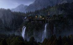 Rivendell - Bruchtal - Imladris - Lord Elrond - Middle-Earth - Mittelerde - Arwen - Noldor Elves - Elben