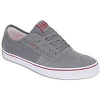 8.0 Mens Red Suede Habitat Quest Skate Shoe