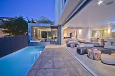"""The POD boutique Hotel is sited at the Cape Town end of the Camps Bay """"strip"""" and is intended to serve those looking for beachfront luxury packaged in a disc..."""