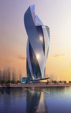 Mixed-Use Tower l Abu Dhabi | Bahar Design, INC. | Archinect