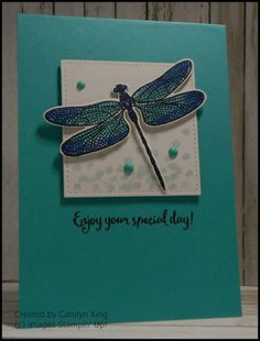 Stampin' Up! Dragonfly Dreams