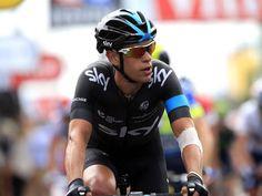 Richie Porte | Team Sky | 2014 Tour de France stage four  Please follow us @ http://www.pinterest.com/wocycling