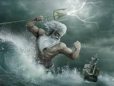 POSÉIDON..........SOURCE FAIRYUNIVERSE.TUMBLR.COM............Poseidon (Greek…
