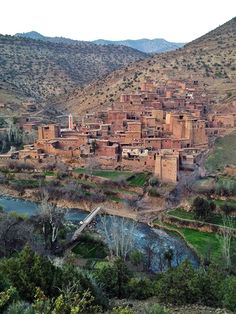 Climbing and hiking in the atlas mountains, morocco.