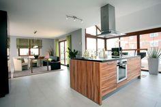 Fertighaus Wohnidee Küche und Esszimmer VENTUR