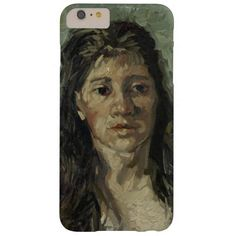 Woman with Loose Hair by Vincent Van Gogh Barely There iPhone 6 Plus Case
