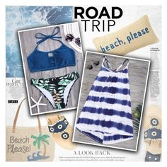 """""""Rev It Up: Road Trip Style"""" by vanjazivadinovic ❤ liked on Polyvore featuring Nordstrom, Jack Rogers, Whiteley, Nordstrom Rack, roadtrip, polyvoreeditorial and zaful"""