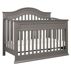 Amazon.com : DaVinci Brook 4-in-1 Convertible Crib with Toddler Rail, White : Baby