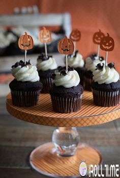 Cupcake #HalloweenRoll