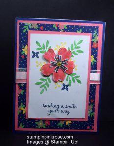 Stampin' Up! Any Occasion made with Love Affection stamp set and designed by Demo Pamela Sadler. See more cards at stampinkrose.com #stampinkpinkrose #etsycardstrulyheart