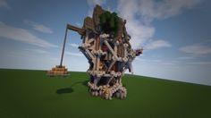 Victorian/Steampunk House Minecraft Project