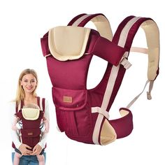 Multifunctional Baby Sling Shoulder Baby Carrier High-quality Mother Front Back Activity& Gear
