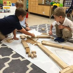 My students wondered how our skeleton was made and how it worked. To help them discover the answer, we traced our friends and used building blocks to represent our bones. The kids used my x-rays, books, and posters to help them make accurate representations of their skeletal systems.