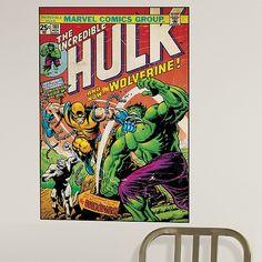The Incredible Hulk Wall Graphic - Marvel.com