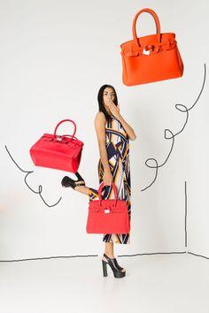 red and orange shades by #Savemybag Le borse in neoprene che stanno facendo impazzire il web. #shoponline