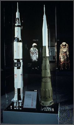 For comparison; the American Saturn V rocket and its Soviet counterpart, the N-1.  The N-1 was ultimately scrapped after 4 unsuccessful launch attempts in the early '70s.