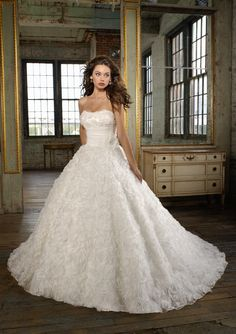 Angelina Faccenda Bridal Couture for Mori Lee
